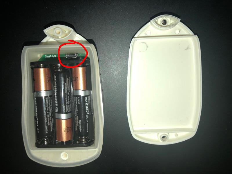 ThingsNode micro USB socket